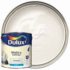 Dulux Matt Emulsion Paint  Timeless 25l  Wickescouk