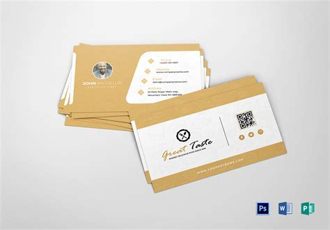 Restaurant Chef Business Card Design Template In Psd, Word Business Card Organizer For Desk Rbs Online Order Of Information Networking Events Mobile Number Scanner And App Chase Debit Activation Apec Renewal New Zealand