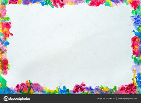 colorful border colorful border for text or banner card template design
