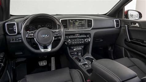 kia sportage sx turbo interior  spec youtube