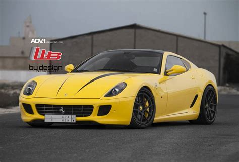 ferrari yellow gallery yellow ferrari 599 gtb on adv 1 wheels gtspirit