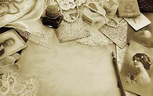 Photo letter pearls vintage style retro bokeh mood ...