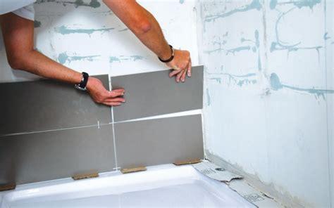 comment faire du carrelage affordable comment faire carrelage salle de bain calculer lpaisseur