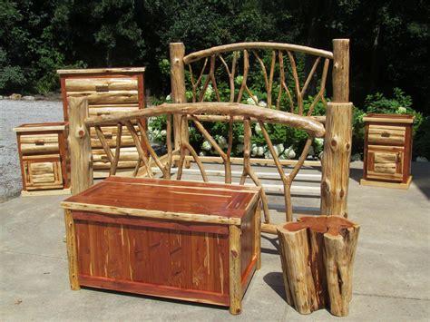 king size log bed catalog bedroom hunters cabin