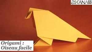 Comment Faire Un Oiseau En Papier : origami facile oiseau video ~ Melissatoandfro.com Idées de Décoration