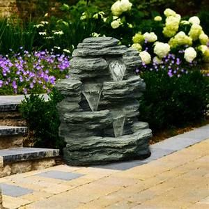 Brunnen Aus Stein Bauen : garten brunnen aus stein 30 ideen f r dekorative zierbrunnen ~ Whattoseeinmadrid.com Haus und Dekorationen