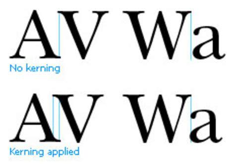 kerning in typography lukedzn