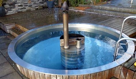 Whirlpool Garten Beheizt by Poolinox Runde Pools Aus Chromstahl Stahlbau Ag