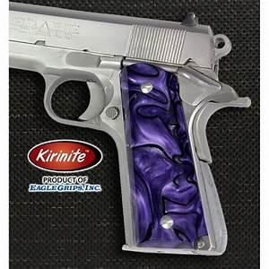 Colt 1911 Purple Haze Kirinite U2122 Grips