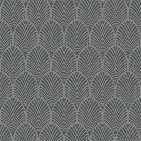 grey art deco peacock wallpaper departments diy  bq