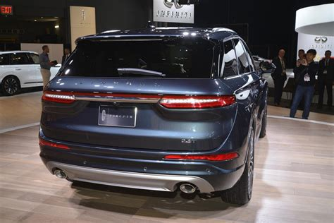 2020 Corsair Debuts As Lincoln's Smallest Suv, Shares New