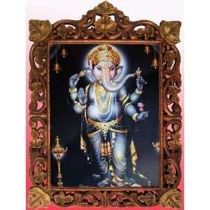 lord ganesha ganesh ridhi sidhi poster 11 x 16 on popscreen