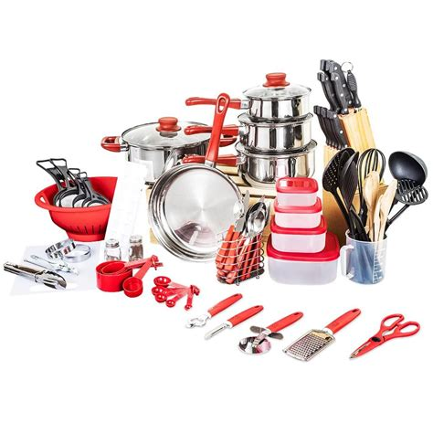 pots pans cookware cooking piece kitchen country pan