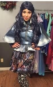 Custom Made Disney Descendants Evie costume ADULT FAUX LEATHER version