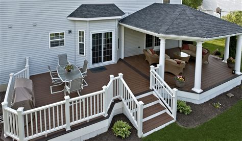 decking roof ideas trex deck with hip roof and grill bump out amazing decks pinterest decking bump and grilling