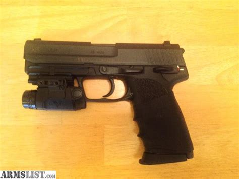 hk usp 45 laser light armslist for sale hk usp 45 w upgrades holster