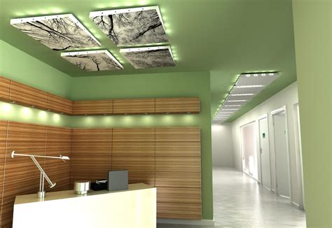 Floating Ceiling Design by Helix Floating Ceiling Panel By Lindner Stylepark