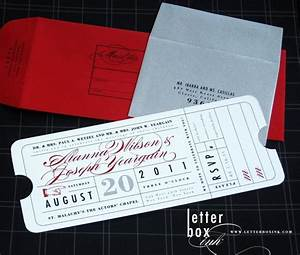 pinterest discover and save creative ideas With movie ticket wedding invitations etsy