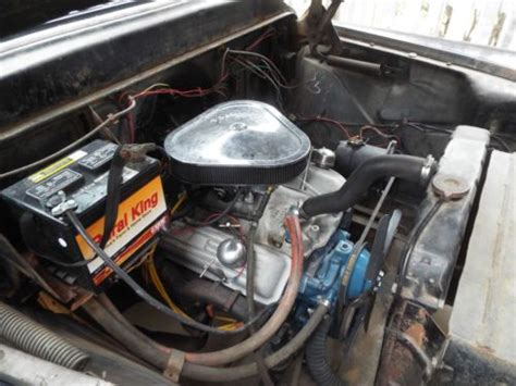 sell   chevy apache  step side truck sbc