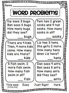 image result  activities  solving word problems