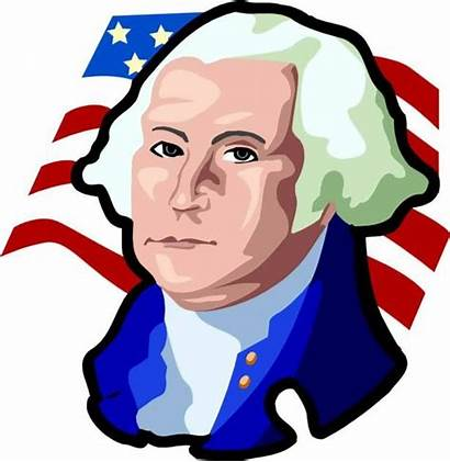Washington George Clipart President Presidents Clip Cartoon