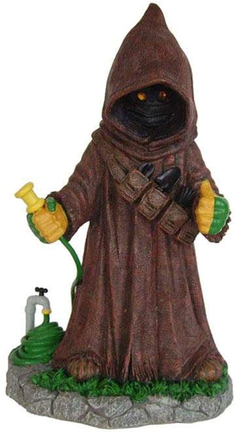 star wars homemade lawn wars lawn ornaments the garden jawa will barter for your droids