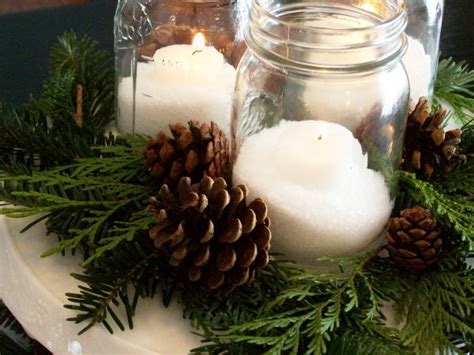 pine cone christmas table decorations shorely chic diy christmas centerpieces