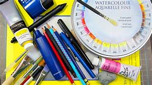 What Art Supplies I Use