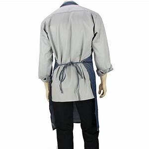 Tablier De Cuisine Professionnel : tablier bavette de cuisine coloris jeans unisexe lisavet ~ Teatrodelosmanantiales.com Idées de Décoration
