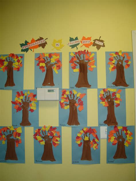 children made the quot kindergarten is falling into fall 795 | be5657c2106af1b64dd946ec0594f03e