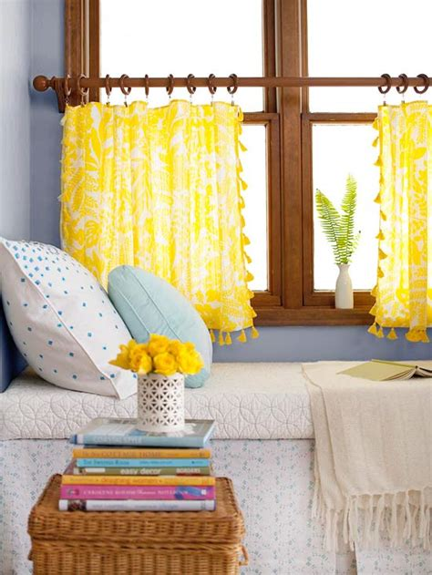 Drapes Made Easy - 20 budget friendly no sew diy curtains ideas