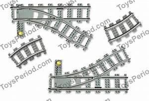 Lego 4531 Manual Switching Tracks  Turnouts Set Parts