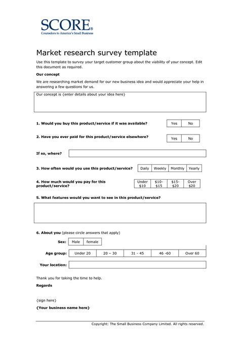 template questionnaire for research http webdesign14