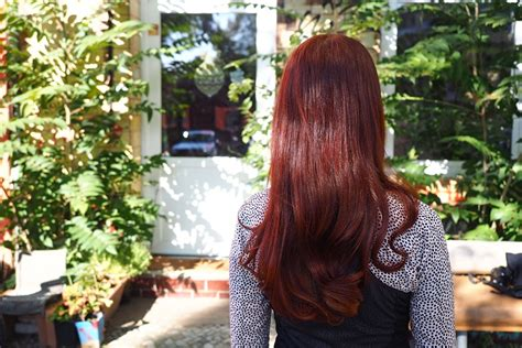 Haare Natürlich Rot Färben Mit Light Mountain Bright Red