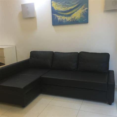 Friheten Corner Sofa Bed Bomstad Black by Urgent Sale Moving In Two Days Ikea Friheten Corner