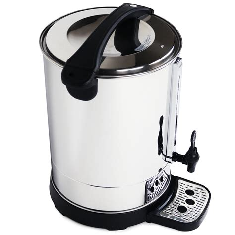 High buffering levels will tend to neutralise the weak acids from the the problem for most coffee drinkers is that they have only one source of water available! 30L Catering Hot Water Boiler Tea Urn Coffee - £53.99 ...