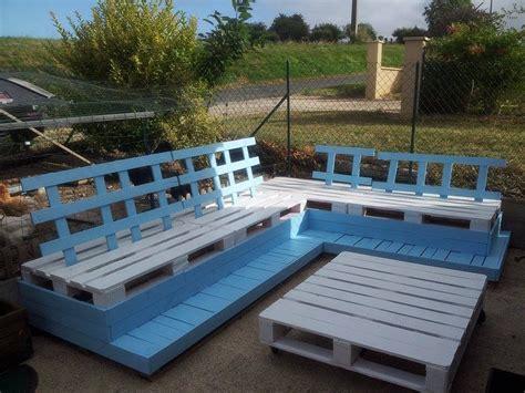 salon de jardin palette dunlopillo fabrication en palette d 39 un salon de jardin
