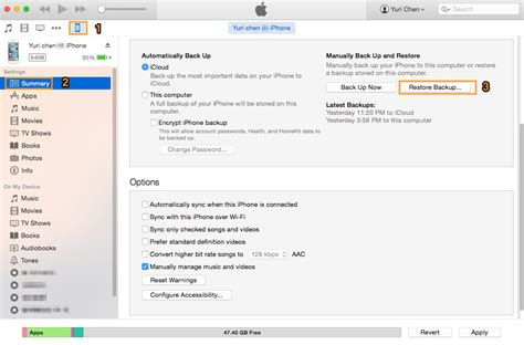 how to backup iphone photos how to restore iphone from backup itunes and icloud