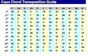 Capo Chord Transposition Guide