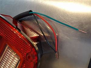 Rear Tail Light Wire Color Code