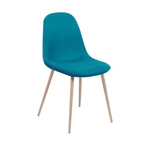 lot de 8 chaises chaise olga turquoise lot de 2 koya design