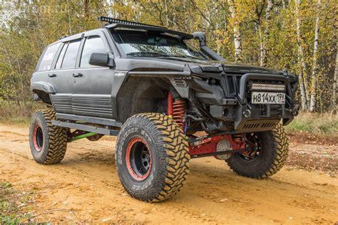 тюнинг Jeep Grand Cherokee Zj по законам Baja 1000 Zj