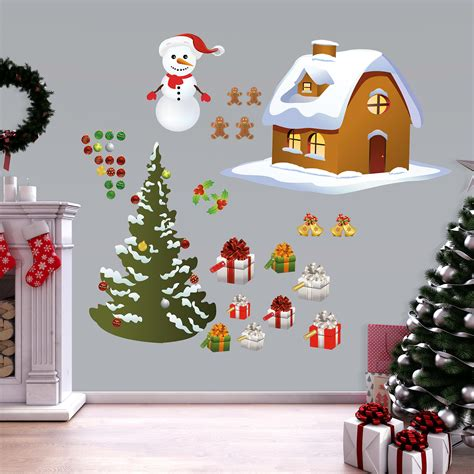 Especially for holidays such as halloween, christmas and even st patrick day. Christmas: Holiday Decoration Collection - X-Large Removable Wall Decals Wall Decal | Shop ...