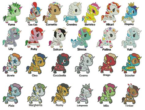 gamer gift unicorno kawaii tokidoki 25 unicorns machine