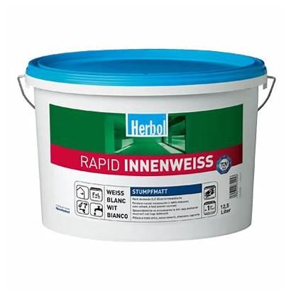 Herbol Innenweiss Rapid Polarit Lavabile Idropittura Murale