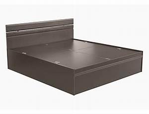 Buy zurina king bed quality wooden bedroom furniture for Buy godrej home furniture online india