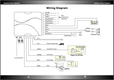 Car Keyles Entry Wiring Diagram by Remote Keyless Entry For Car Central Lock Ke698 Ult Ebay