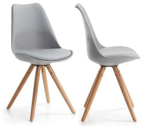 chaise de salle a manger grise davaus chaise cuisine scandinave avec des idées
