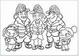 Firefighter Pompieri Coloringlesson Getdrawings sketch template