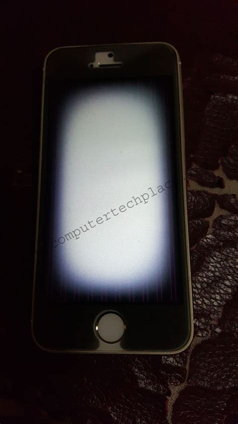 cracked iphone 5s reflashing a broken iphone 5s that cannot be turned on